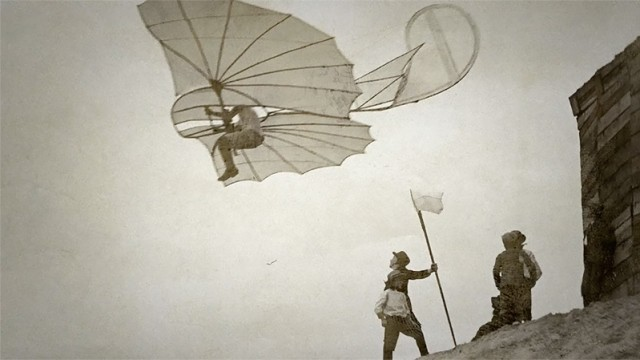 Man's First Flight Captured In A Hundred Snapshots