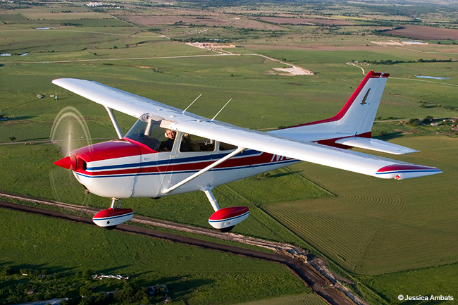 If your goal is cross-country flying, then you need to define what kind of cross-country flying that will be. For shorter, less time-sensitive trips, a modest four-seater, like a Skyhawk, should do fine.