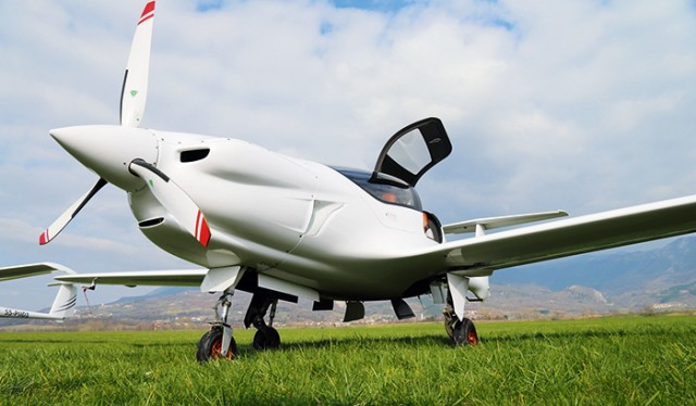 While it's being tested at an airport with just a grass-strip, the Panthera is a transportation airplane. That said, the beefy trailing link gear don't complain about the bumps much.