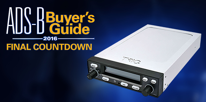 ADS-B Buyer's Guide 2016 Final Countdown