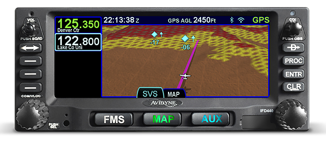 Avidyne Adds Synthetic Vision To IFD-Series Panelware, Plans In-Flight Web Access