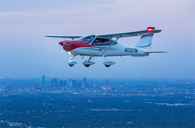 Good News For Tecnam P2010 Owners