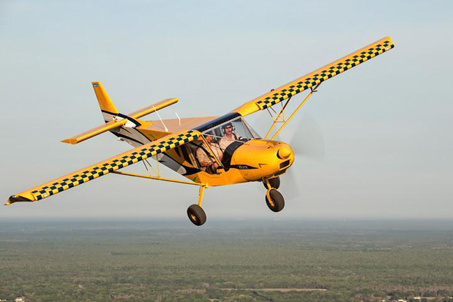 STOL CH 750 Accelerates Takeoff Speed