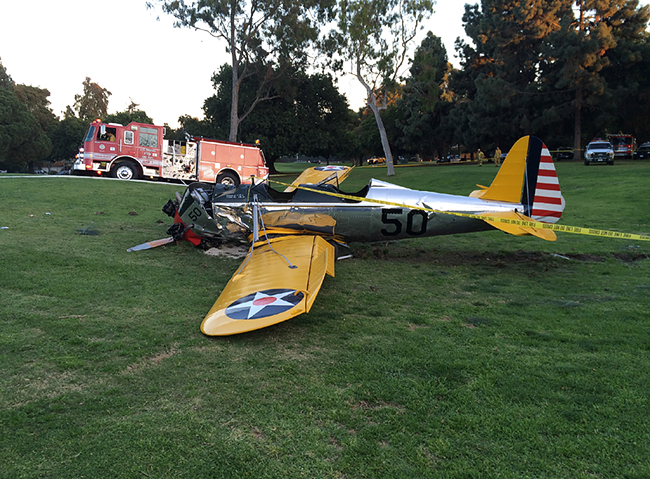 The Harrison Ford Accident