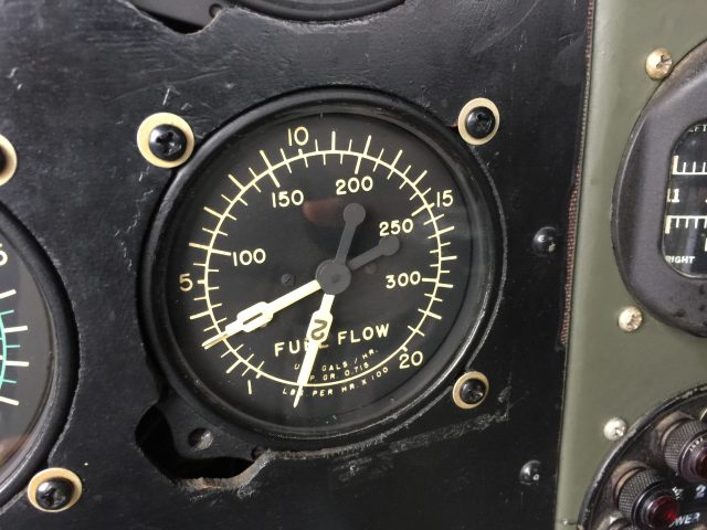 Fuel flow gauge Boeing B-29