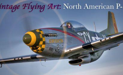 Vintage Flying Art: North American P-51
