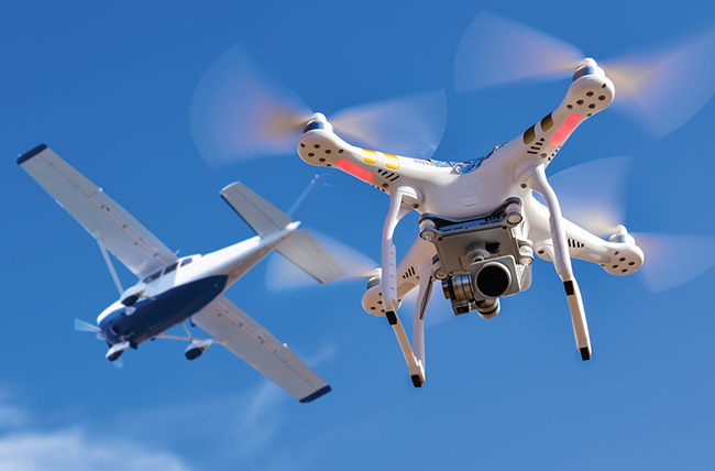 drone-related flight risks