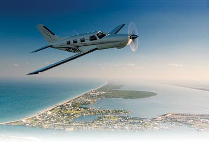 Six-seat single engine aircraft