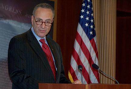 Going Direct: NY Senator Schumer Reads Paper, Decides To Slam GA