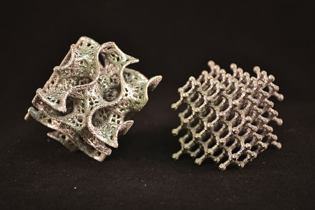 3D Printed Metal Honeycombs