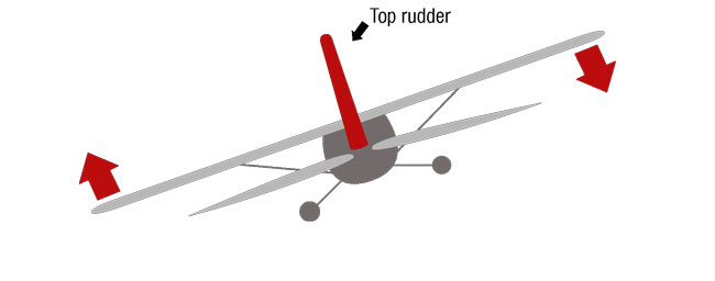 Top Rudder Figure 1