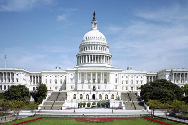U.S. Capitol - FAA Budget Funding