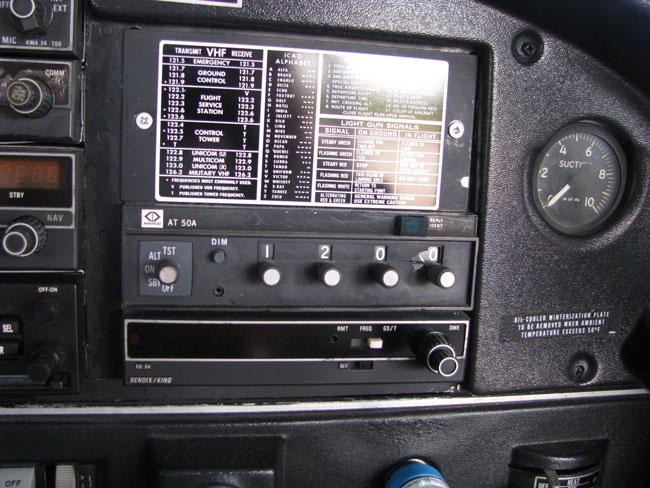 Narco 50A transponder