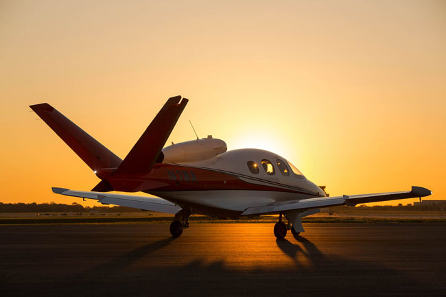 Cirrus Vision Jet V Tail