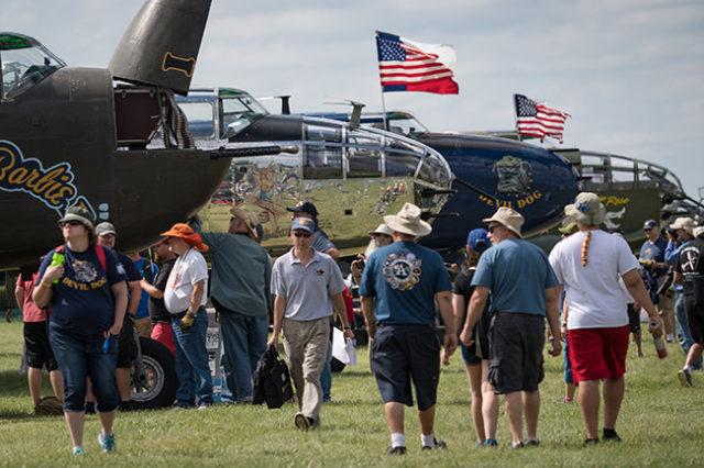 B-25 bombers