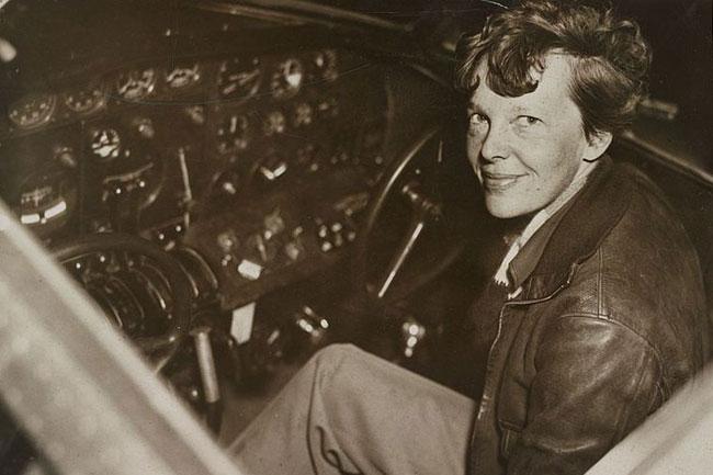 Amelia Earhart, 1937