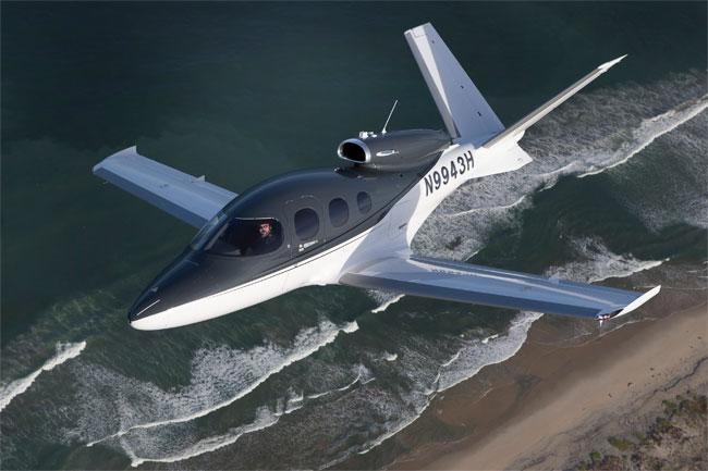 Cirrus SF50 Vision Jet Exterior