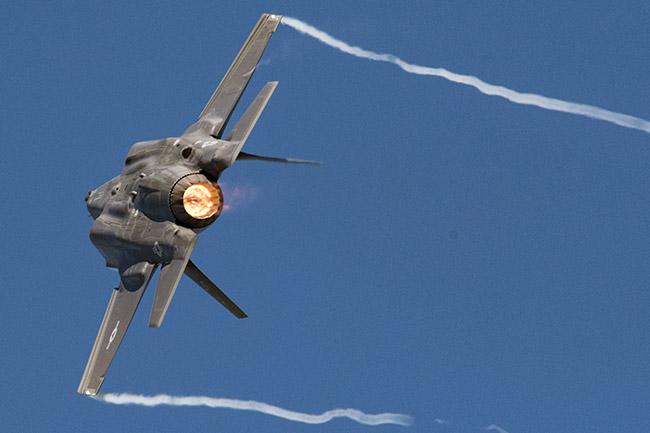 F-35 performance turn