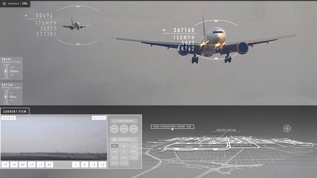 Searidge Enhanced Airport Vision Display