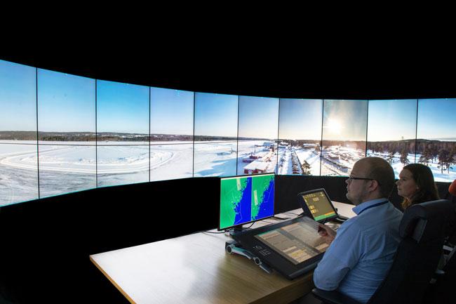 Remote ATC control center