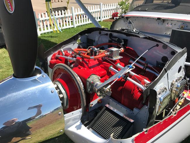 Titan engine for Cessna Skyhawk