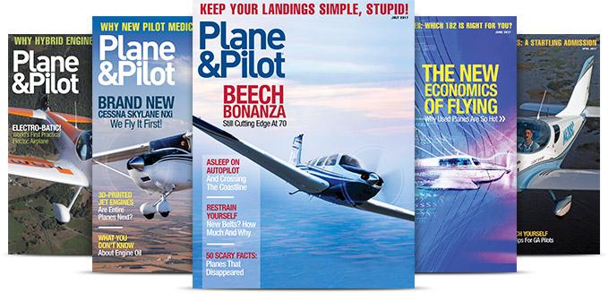 Subscribe to Plane & Pilot Magazine