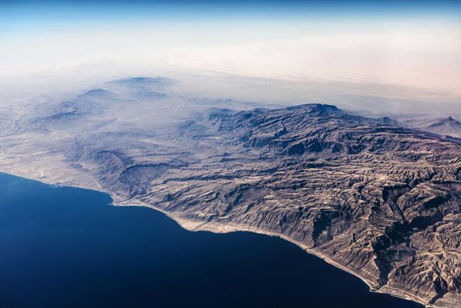 Sahara Desert - African coast