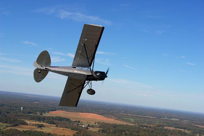 Outback Shock in flight