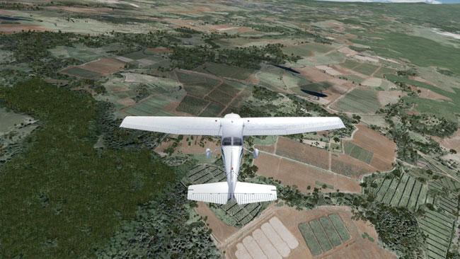 Redbird GIFT flight