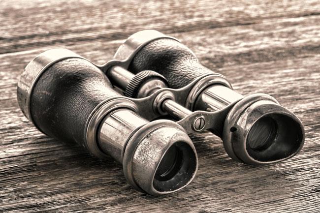 Old binoculars