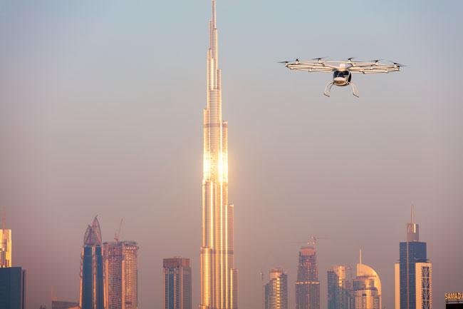 Volocopter taxicab drones