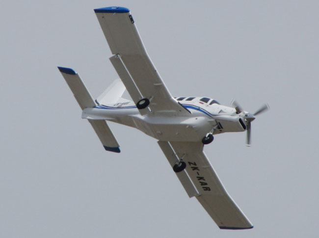 PAC P-750 XSTOL full sized aircraft drone