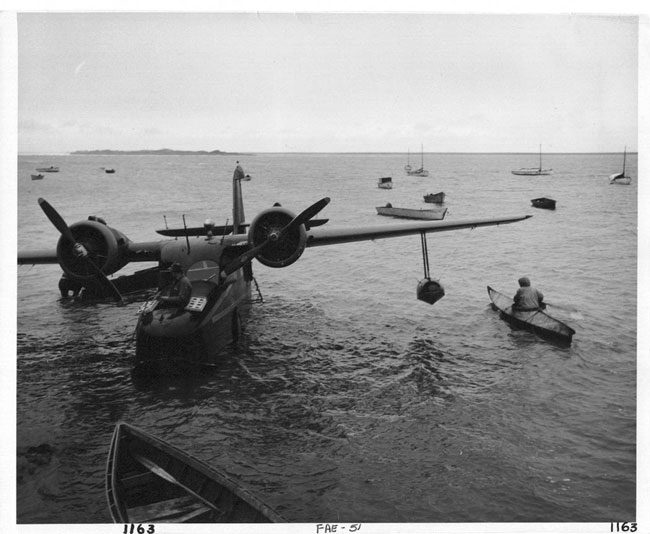 Missing aircraft: Clarence Rhode in his Grumman Goose, 1949