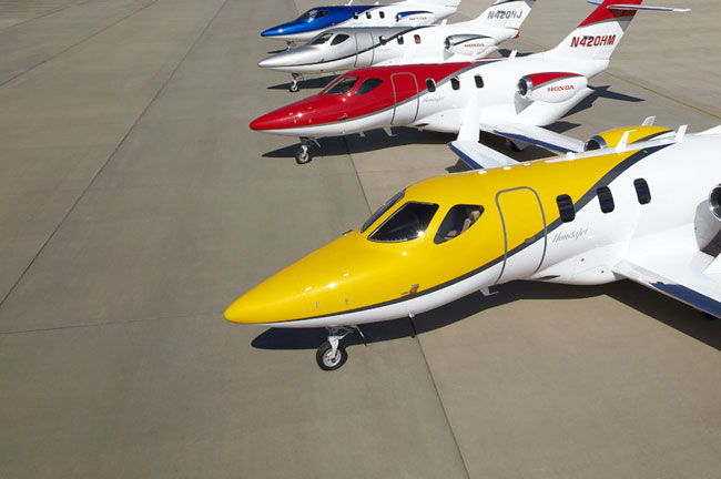 HondaJet fleet