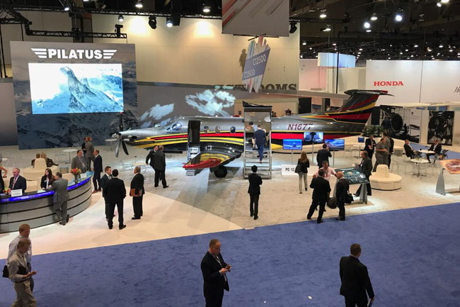 Going Direct: Las Vegas Soldiers On As NBAA Convention Begins