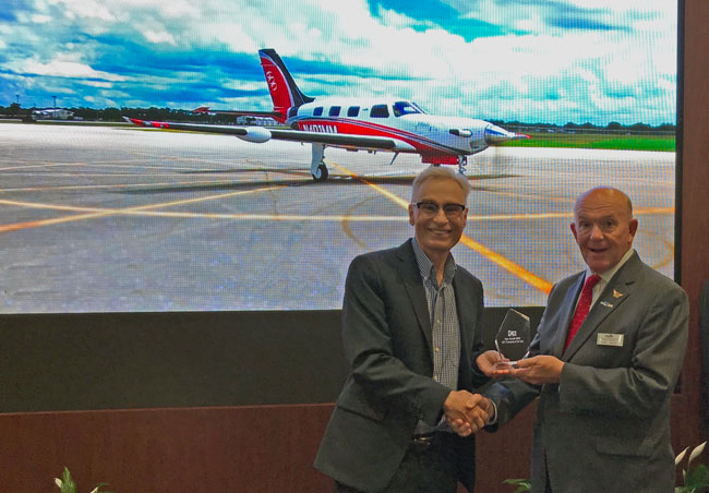 turboprop plane of the year award