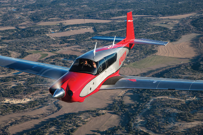 2017 Plane of the Year - Mooney Acclaim Ultra