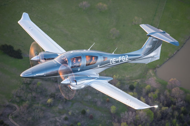2017 Plane of the Year - Diamond DA62