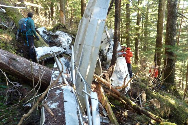 Lost Alaskan floatplane wreckage found