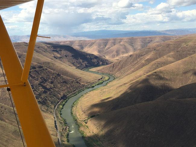 Backcountry Flying: Deschutes River