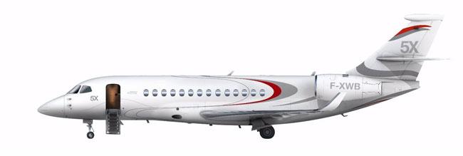 Dassault Falcon 5X concept