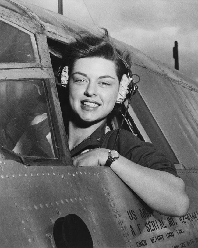 Women In Aviation - WASP pilot Elizabeth L. Remba Gardner