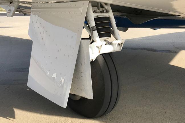 Mooney Ovation Ultra landing gear