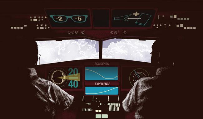 Illustration of old pilots