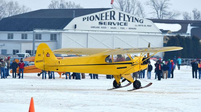 Annual EAA skiplane fly-in