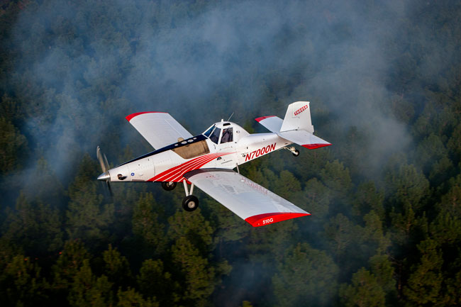 Thrush plans to develop an autonomous fire-fighting aircraft similar to its 510G Switchback