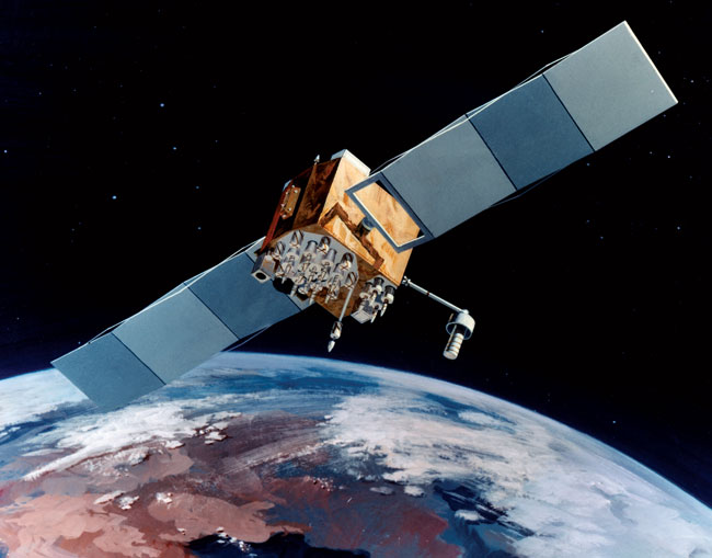NAVSTAR GPS Satellite