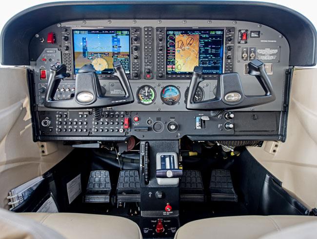 Cessna JT-A cockpit