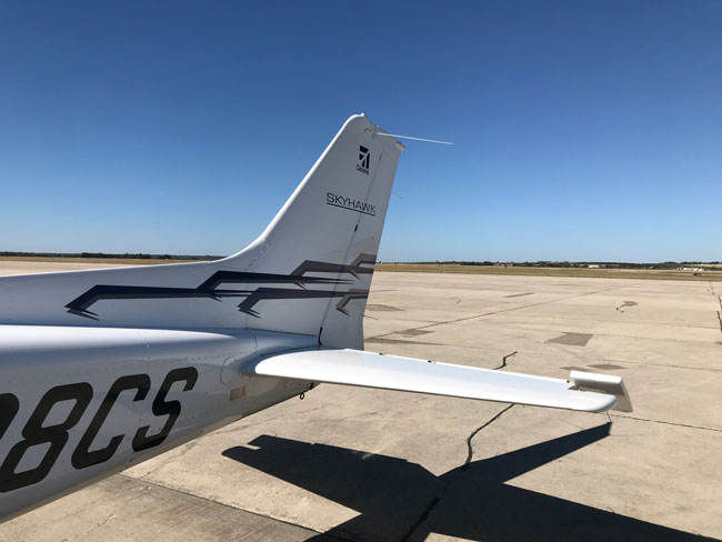 Cessna JT-A tail