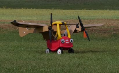 New Flying Car (Almost) Takes First Flight